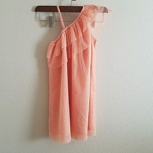 Like new! Adorable coral ALine dress!